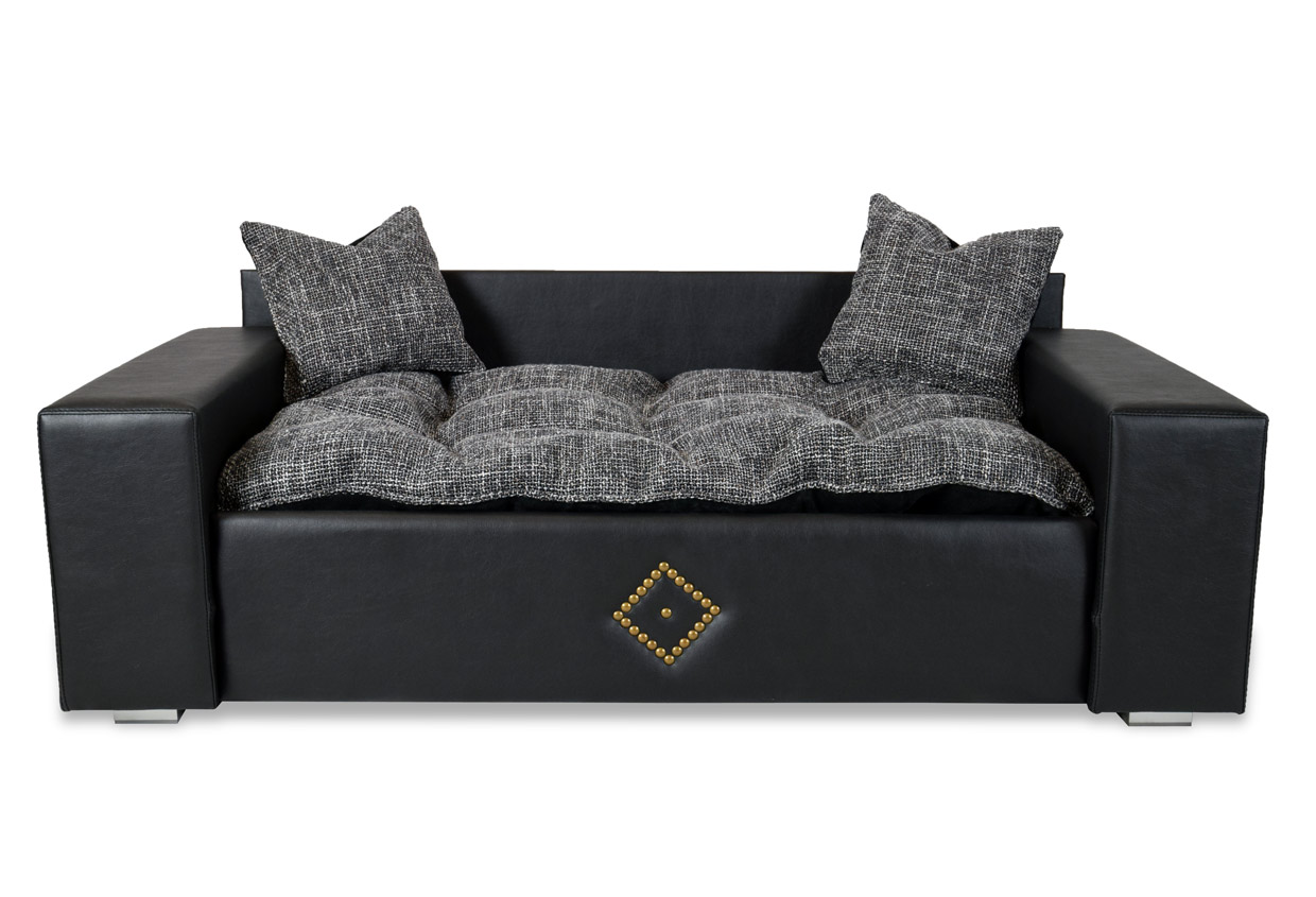 hundesofa hundebett dog cat ecco neu xxl kunstleder luxus couch. Black Bedroom Furniture Sets. Home Design Ideas