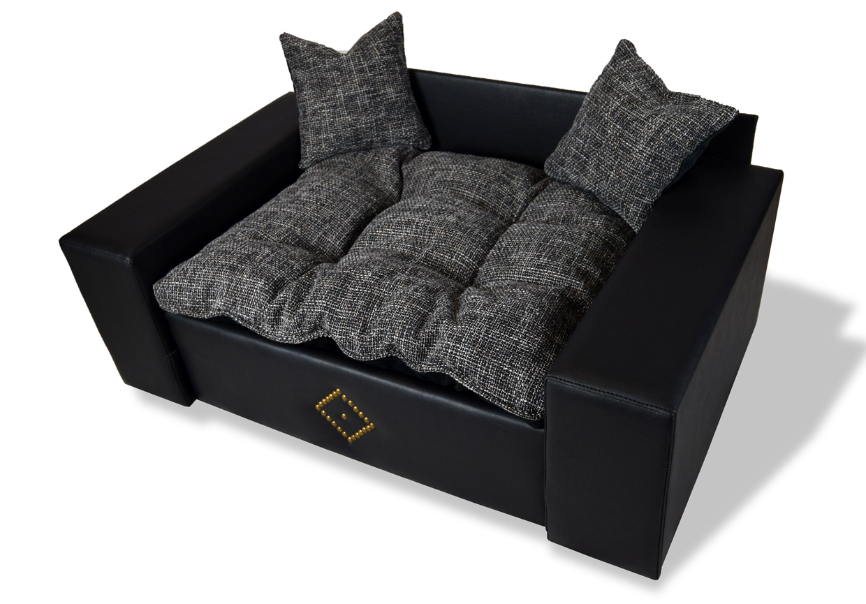hundesofa hundebett katzenbett hunde sofa dog cat neu kunstleder l ebay. Black Bedroom Furniture Sets. Home Design Ideas
